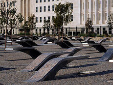 Pentagon Memorial -W